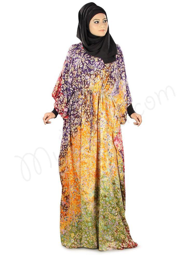 Farhanah Batik Print Kaftan | MyBatua | http://www.mybatua.com/womens/kaftans-1