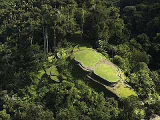 "Ciudad Perdida, Colombia the ""lost city"""