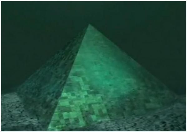 best bermuda triangle images cool things funny  underwater crystal pyramids bermuda triangle crystal pyramid under bermuda msn