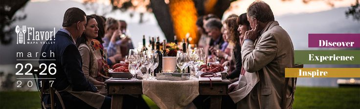 Come experience, taste and learn from the best of Napa Valley wineries, restaurants and chefs at Flavor!