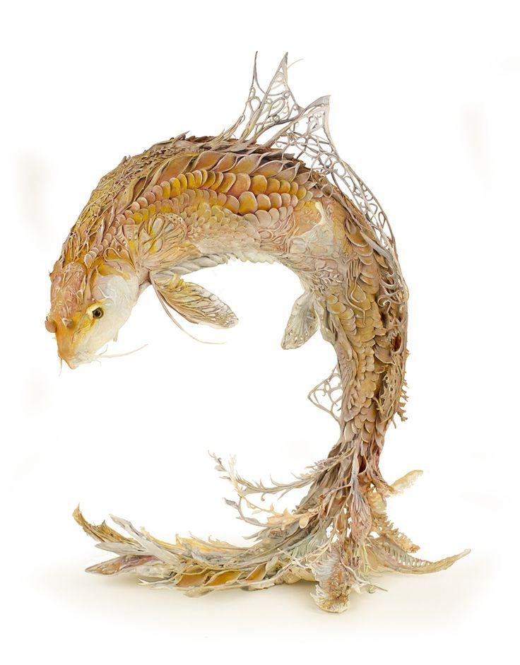Best Ellen Jewett Images On Pinterest Animal Sculptures - Surreal animal plant sculptures ellen jewett