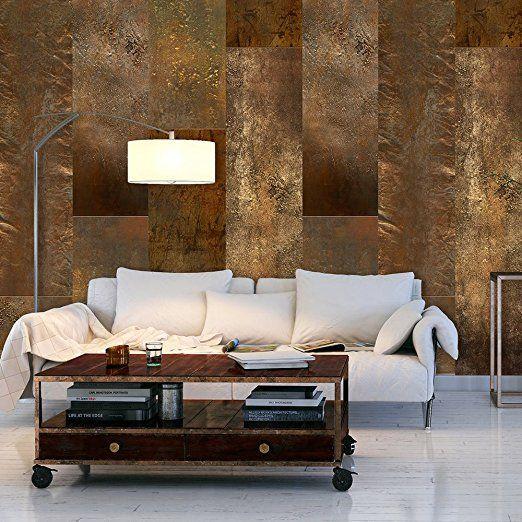 49 best Tapeten images on Pinterest Damasks, Vinyl wallpaper and - goldene tapete modern design
