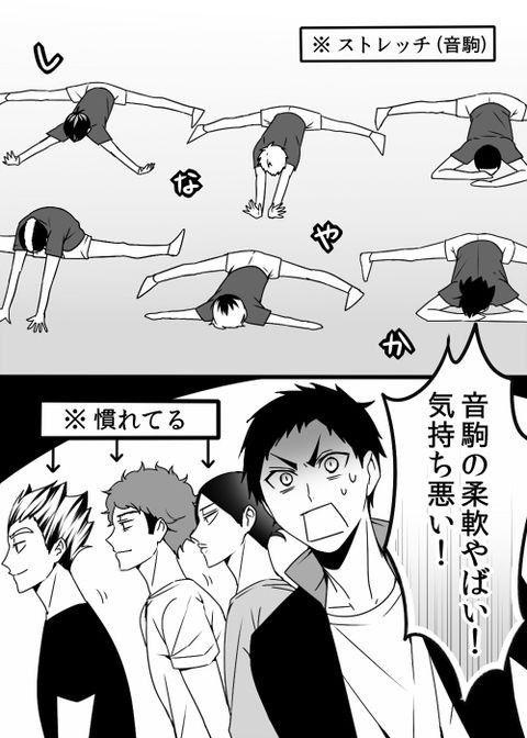 ハイキュー 音駒 pixiv 漫画