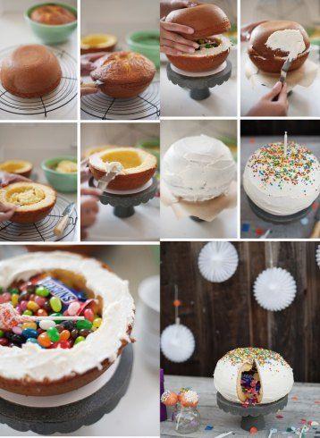 Pinata,cake,Pinata-cake,Kuchen-mit-Überraschung-und-Süßigkeiten,deutsch,german,Kuchen-mit-Überraschung-und-Süßigkeiten,Kinderfeste,Geburtsta...