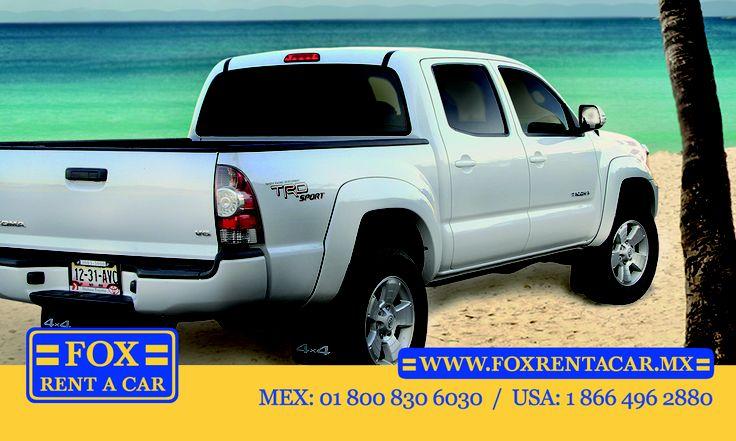 Toyota Tacoma Fox Rent A Car Mexico