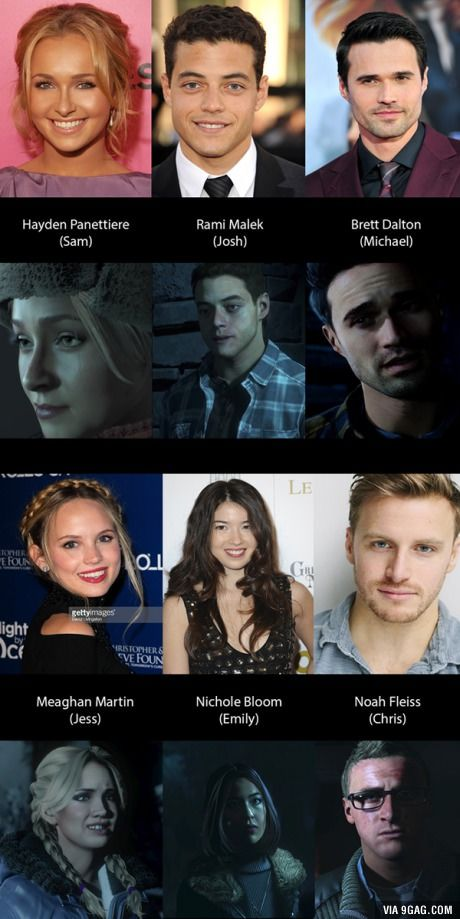 The modeling of the characters from Until Dawn is ...