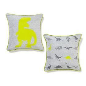 Dinosaur Square Cushion   Kmart