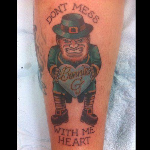 Leprechaun tattoo by Luke Olczyk | All Star Tattoo 8601 Olive Blvd, University City MO 63132 (314) 692-7827 #allstartattoo