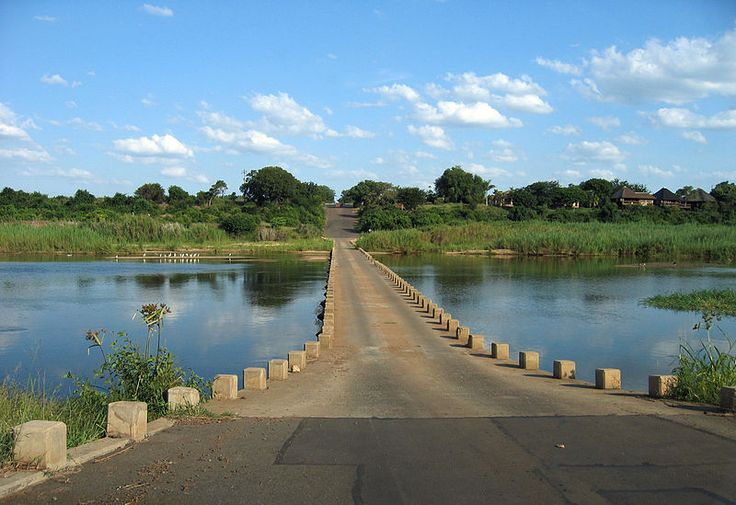 Crocodile Bridge, near the South gate Kruger National Park
