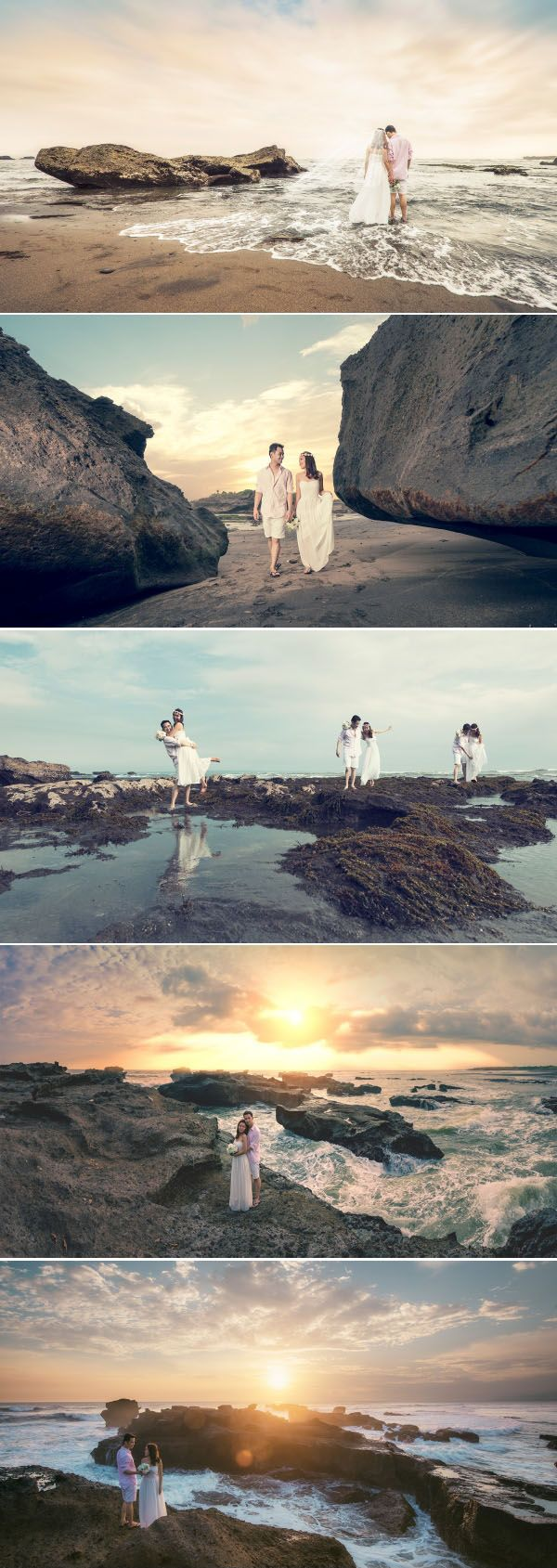 Beautiful sunset prewedding photo in Bali // Pat Law Photography // http://www.onethreeonefour.com/listing/PatLawPhotography/559e975ac75a109b414725e9