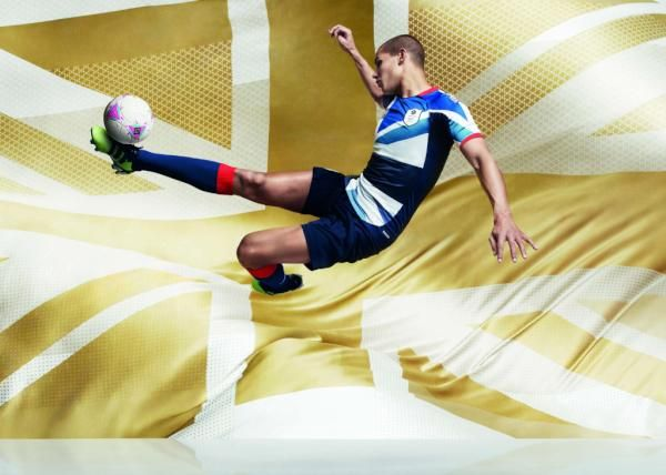 Team GB football kit by Adidas and Stella McCartney