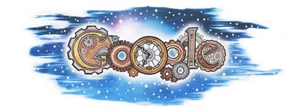 Winning Ireland Doodle 4 Google 2012 'Turning Back Time' - drawn by Patrick Horan from Co. Limerick