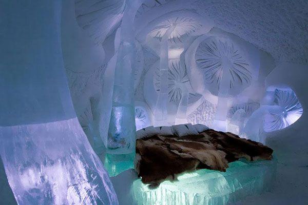 Ice Hotel in Jukkasjarvi/スウェーデン