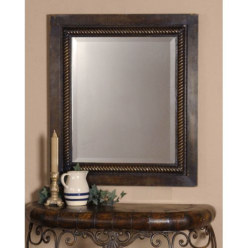 Found it at Wayfair -  Tanika W Wall Mirror