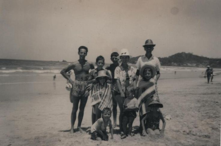 Cousins on the The Gold Coast and the beach - Photo - Cario Family Tree - MyHeritage