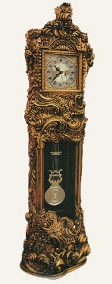 Grandfather Clock. Perhaps a bit like the one in the carriage house?