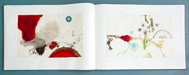 Atlas of smal and large observations, Handmade artist book,  Copenhagen, 2013 Cecilia Westerberg