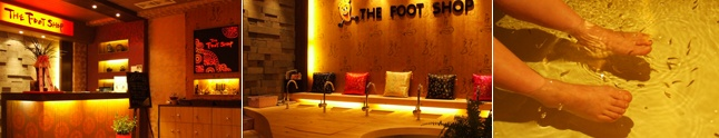 """The Foot Shop! It's a great little place to have a good massage for very little $ and an interesting """"Dr. Fish"""" pedicure! A gem and a must visit in Seoul!"""