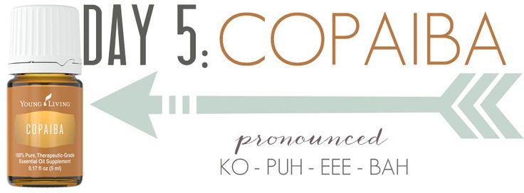 Day 5: How to use Copaiba essential oil | Welcome to Beth's YL website