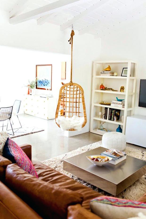 Hängesessel Wohnzimmer #decor #interiordesign #chairs