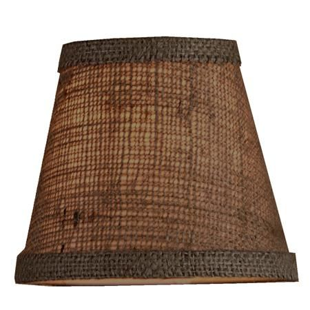 17 Best images about Lamp Shades – Burlap Chandelier Shades