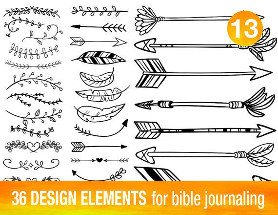 36 PRINTABLE TEMPLATES for bible journaling by BibleVerseColoring