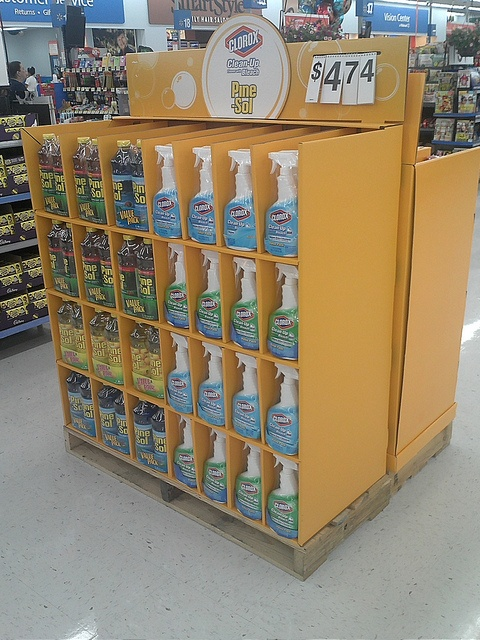 Clorox Half Pallet by kendalkinggroup, via Flickr