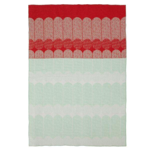 Ekko blanket, multicolor, by Normann Copenhagen.