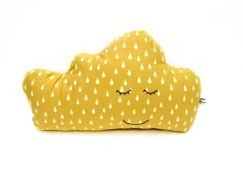 Cuddly cloud - Golden yellow