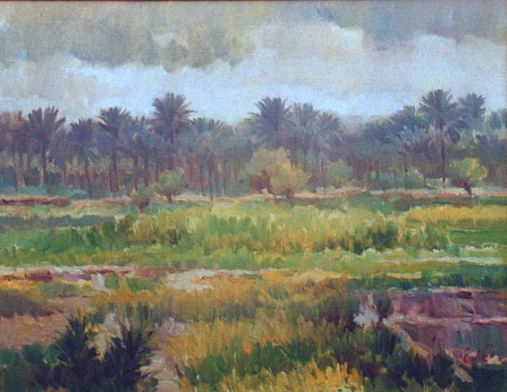 raad al adham - the Grove , IQ L - oil - 2000 .