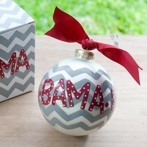 University of Alabama Chevron Ornament.  #Bama #UniversityofAlabama #rolltide