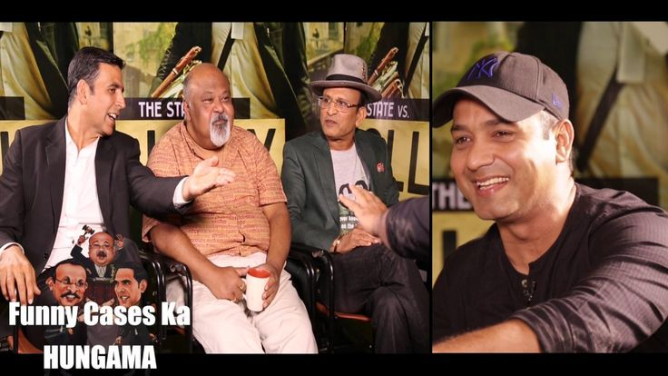 """Check out this Bollywood Hungama"""" Exclusive full session 'Funny Cases Ka HUNGAMA' with Content Head Broadband Faridoon Shahryar, Akshay Kumar, Saurabh Shukla and Annu Kapoor play a hilarious section in which Saurabh turns the judge and Akshay-Annu turn lawyers to solve the most bizarre cases..."""