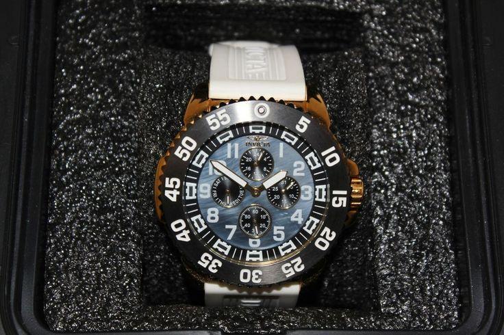 Mens Invicta 18987 Pro Diver Watch Scuba Diver Chrono Day Date Big Wristwatch #Invicta #mens #diver #watch