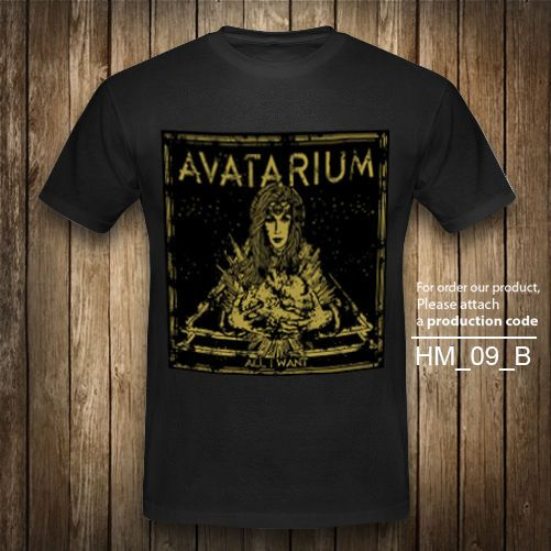 AVATARIUM T-Shirt ALL I WANT Heavy Metal Rock Band Vintage Black Graphic XS-2XL #Unbranded #GraphicTee
