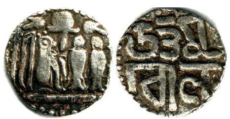 Uttama coin - Chola dynasty - https://en.wikipedia.org/wiki/Chola_dynasty
