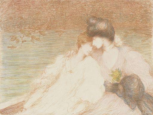 Twee jonge vrouwen in een boot (Deux jeunes femmes dans une barque) - Van Gogh Museum