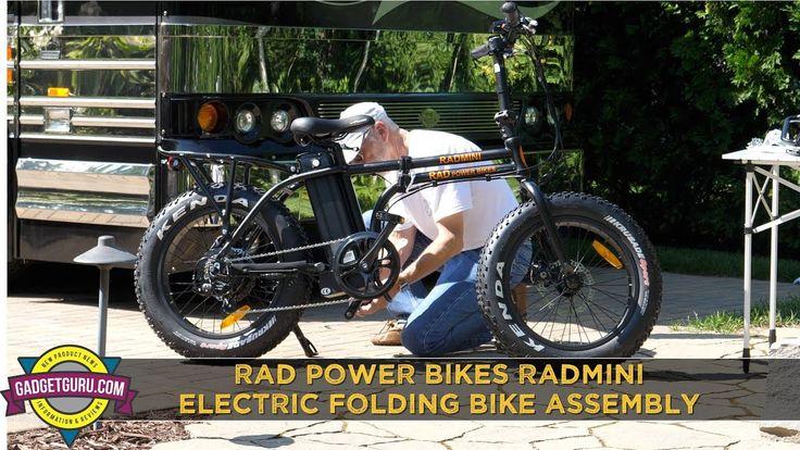 Rad Power Rad Mini Electric Folding Bike Assembly