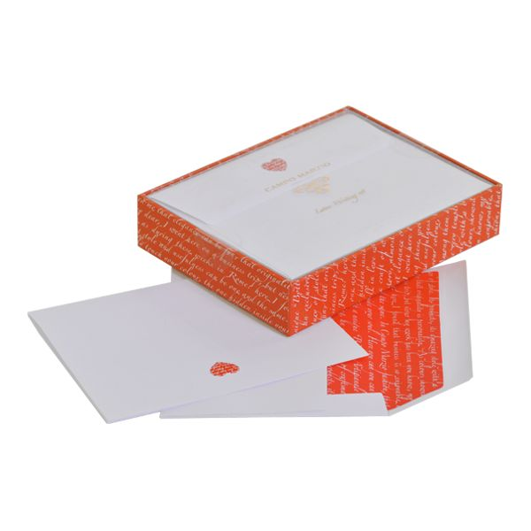Heart Letterset 10 Pcs Gift Box ~ Write your own love letter and express your feelings, with the letter Set by Campo Marzio, consisting of letter paper and envelopes, delicately decorated.  #Letterset #GiftBox #letters #paper #papercollection #write #writing #writinginstruments #lovewriting