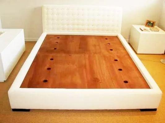 camas de diseño de 2 plazas - tapizadas