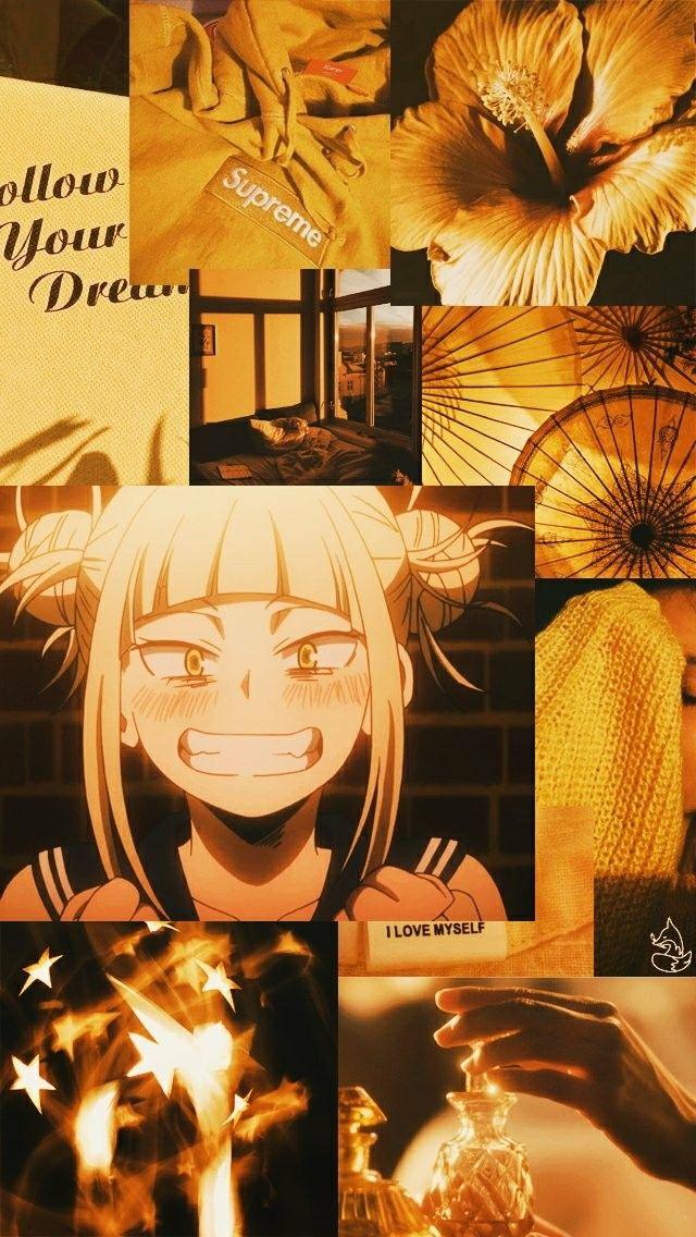 Yellowish Anime Wallpaper Anime Wallpaper Iphone Cute Anime Wallpaper