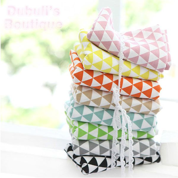 Cheap textile retailer, Buy Quality textile baby directly from China fabric by the yard Suppliers:    8 Assorted Geometric Triangle Print Cotton Linen Quilt Fabric Fat Quarter Tissue Bundle, Charm Sewing Handmade Textil