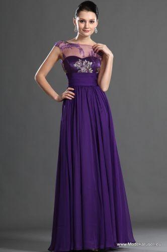 Lila Mode 2015  Abendkleid günstig
