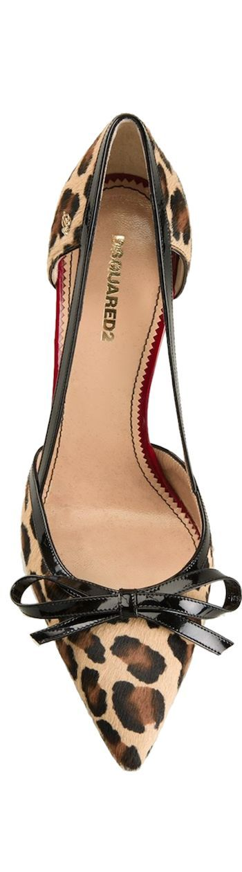 DSQUARED2 leopard pumps