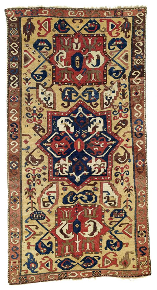 Bed Rug Northeast Anatolian rug ca x cm Now in a local private collection We helped hang it up on the wall of the new owner