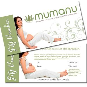 The perfect pregnancy gift idea; a Mumanu specialist pregnancy massage gift voucher is the perfect present for any pregnant woman. Baby shower gift idea