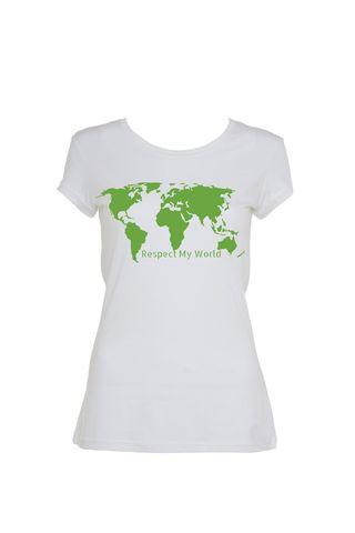 Respect My World Tee | Organic Cotton | Womens