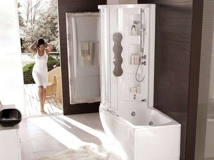 Vasche doccia combinate - Vasca combinata Nemesi Box di Hafro