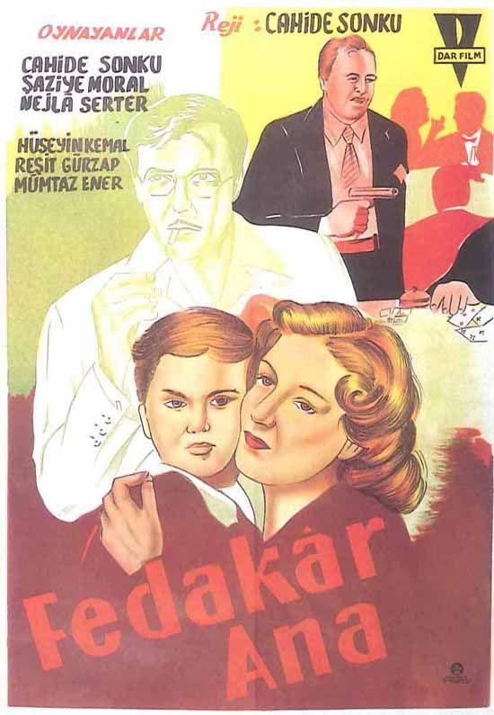 Türk Nostalji - Fotogaleri - Fedakar Ana (1949) filminin afişi