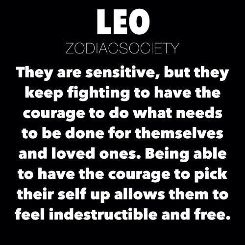 leo zodiac astrology leo facts Leo Traits zodiacsociety ...