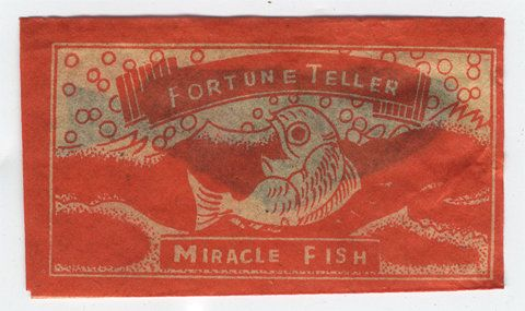 1000 images about vintage five and dime store toys on for Fortune teller fish